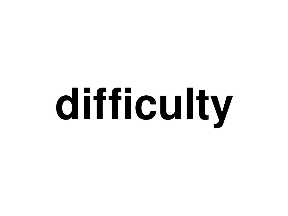 difficulty by ninov94