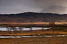 Stormy weather at Loch Ba by Cliff Williams