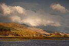 Late light on Loch Lubhair by Cliff Williams