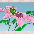 Fairy tending flowers by tapiona