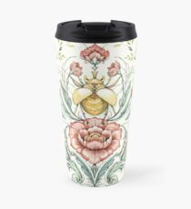 Antique pattern - Beetle and centipedes Travel Mug
