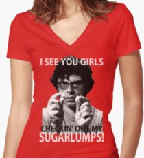 """Flight of the Conchords """"Sugarlumps"""" Tee Women's Fitted V-Neck T-Shirt"""