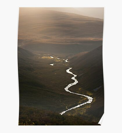 Glorious light in the Cairngorms Poster