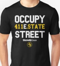 Discreetly Greek :: Occupy East State Street Unisex T-Shirt