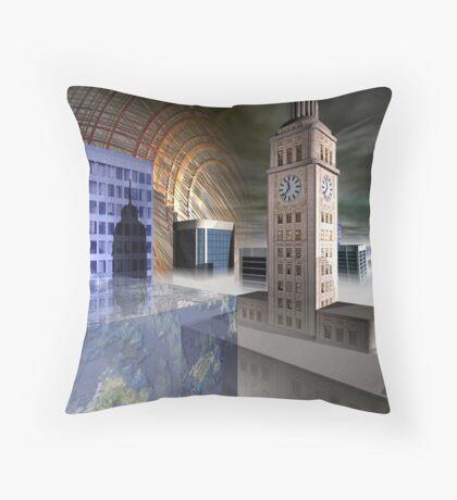 City 2312 Throw Pillow