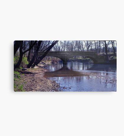 Swann Mill Bridge Metal Print