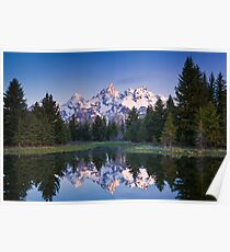 Schwabacher Landing Grand Teton National Park Poster