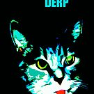 Derp Face Kitty (captioned) by Kiritora