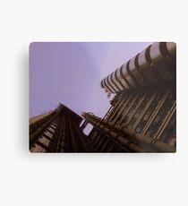 Lloyds London HQ from below Metal Print