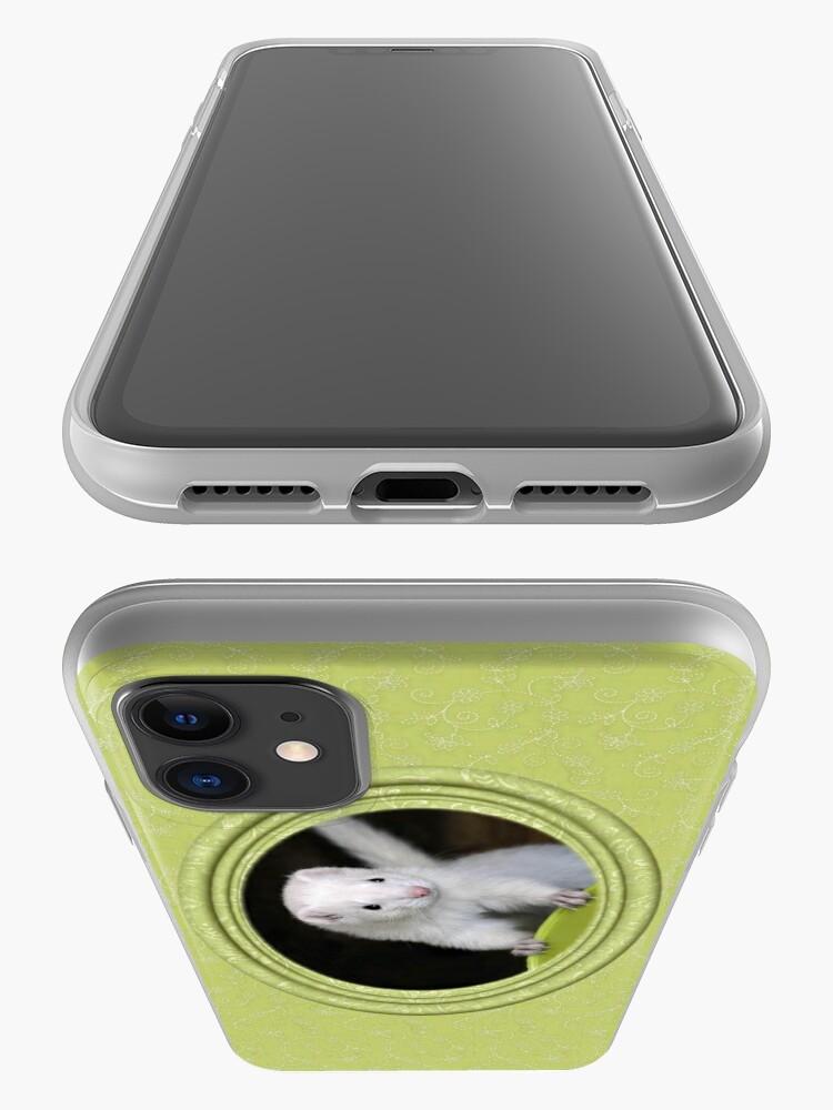 Alternate view of Ferret Sprin iPhone Case iPhone Case & Cover