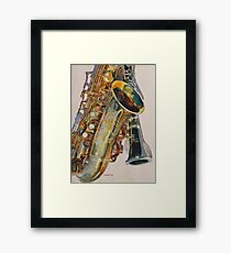 Taking a Shine to Each Other Framed Print