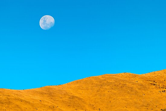 Mountain Moon  by Adrian Alford Photography