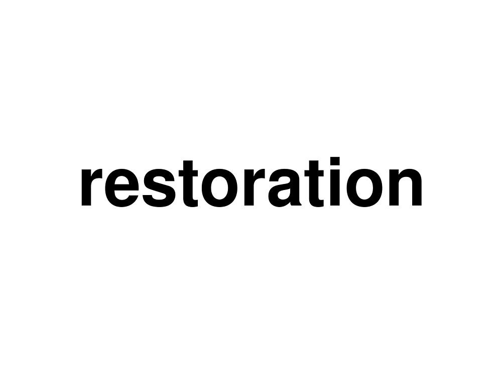 restoration by ninov94