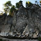 Cliffs at Crater Lake, OR by dylangould