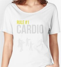Zombie Survival Guide - Rule #1 Cardio Women's Relaxed Fit T-Shirt