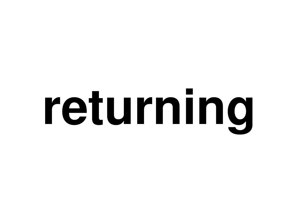 returning by ninov94