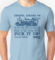 I Grew Up On Hip-Hop: Engine, Engine No. 9 Unisex T-Shirt