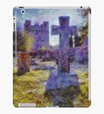 Tattershall Castle & Gravestone Cross  iPad Case/Skin