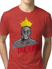 The King Will Not Eat Your Children Tri-blend T-Shirt