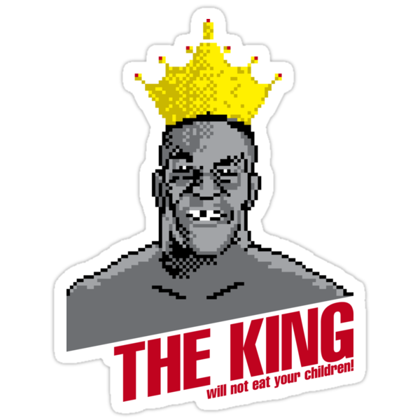 The King Will Not Eat Your Children by Megatrip