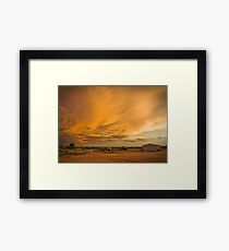 Biancas Sunset Framed Print