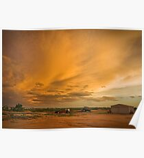 Biancas Sunset Poster