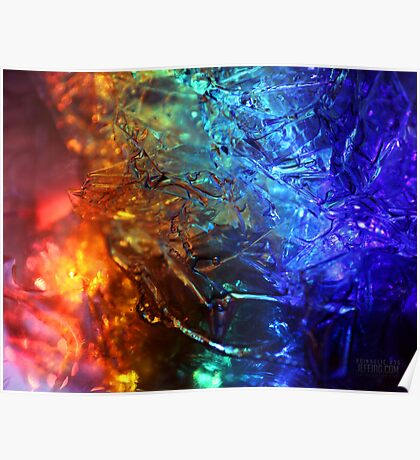 Rainbolic - Experimental Prism Photograph #35 Poster