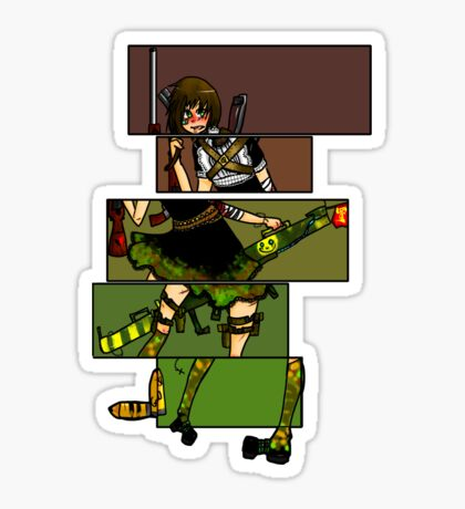 Army colors Sticker