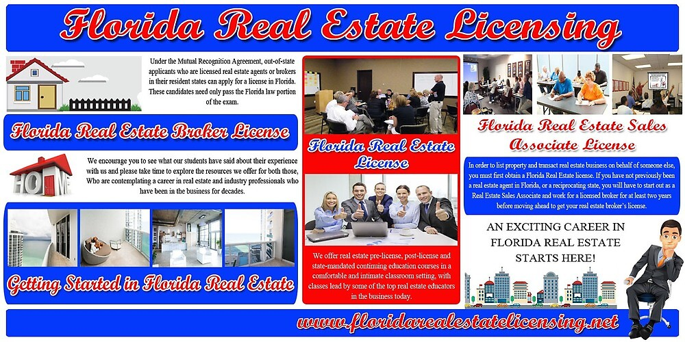 Florida Real Estate Licensing by MiamiRealEstate