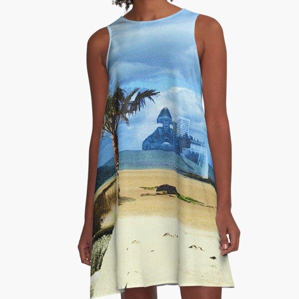 Surreal Wish A-Line Dress