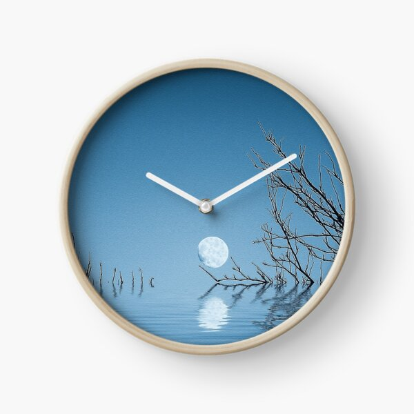 A Blue Moon on the Water Clock