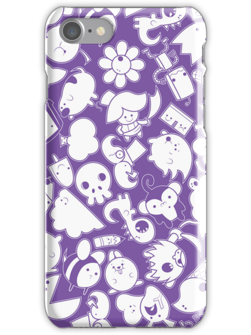 Purple Phone Case by Scott Weston