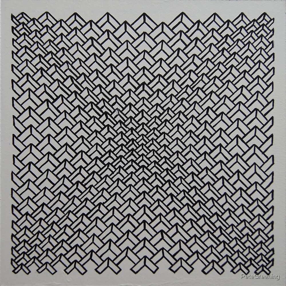 Concave chevrons by PeteGreening