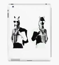 Punk Rock Horses iPad Case/Skin