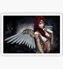 ~ Tattooed Angel ~ Sticker