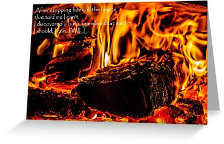 Burning Ember Inside by Elysian Photography ~ Art from the Heart