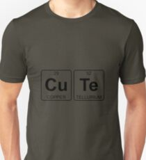 Cu Te - Cute - Periodic Table - Chemistry Unisex T-Shirt