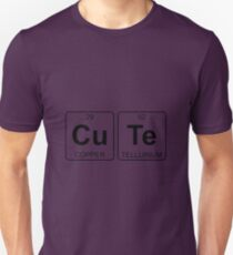 Cu Te - Cute - Periodic Table - Chemistry Unisex T-Shirt