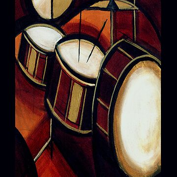 abstract drums by ronniearts