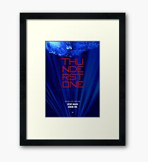 Thunderstone TV Show I Framed Print