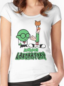 Bunsen's Laboratory Women's Fitted Scoop T-Shirt