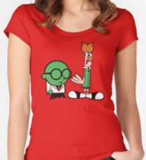 Bunsen's Laboratory (sans text) Women's Fitted Scoop T-Shirt