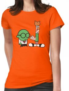 Bunsen's Laboratory (sans text) Womens Fitted T-Shirt