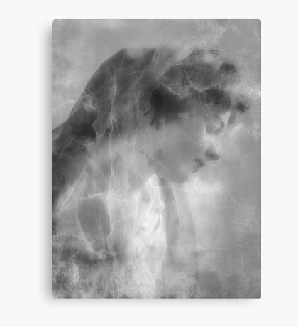 Silent White Canvas Print