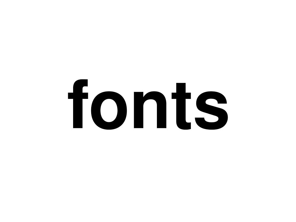 fonts by ninov94