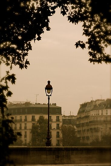 November kiss over Paris by 1morephoto