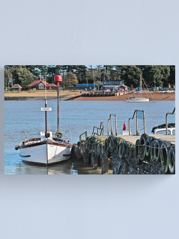 Alternate view of Ferry Canvas Print
