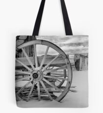 Deserted Winter Tote Bag