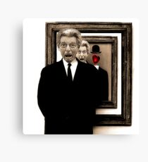What Would Magritte Do? Canvas Print