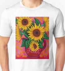 Saturday Morning Sunflowers Unisex T-Shirt